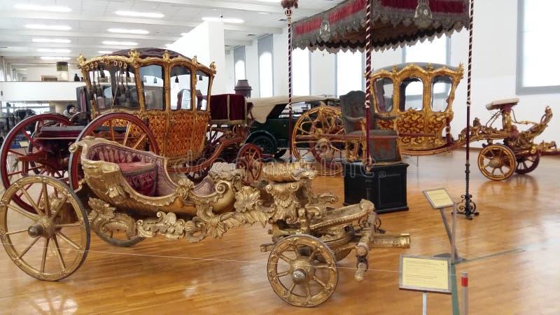 Μουσείο των αυτοκρατορικών μεταφορών στη Βιέννη στοκ εικόνες