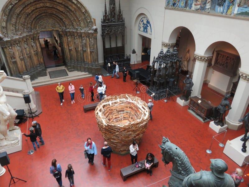 Μουσείο των Καλών Τεχνών στη Μόσχα στοκ φωτογραφία με δικαίωμα ελεύθερης χρήσης
