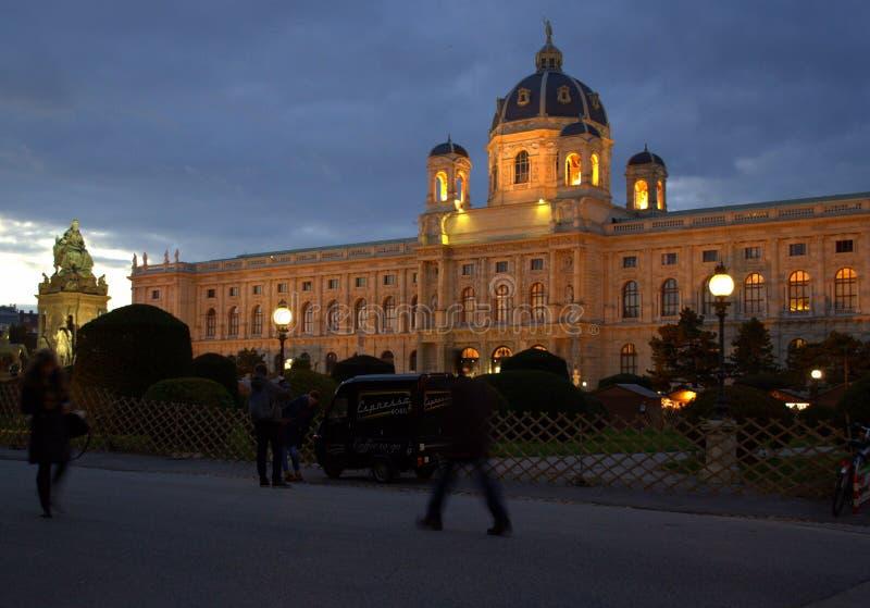 Μουσείο φυσικής ιστορίας, Βιέννη, Αυστρία στοκ εικόνες