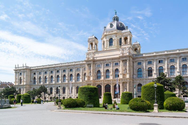 Μουσείο φυσικής ιστορίας στη Βιέννη, Αυστρία στοκ φωτογραφίες