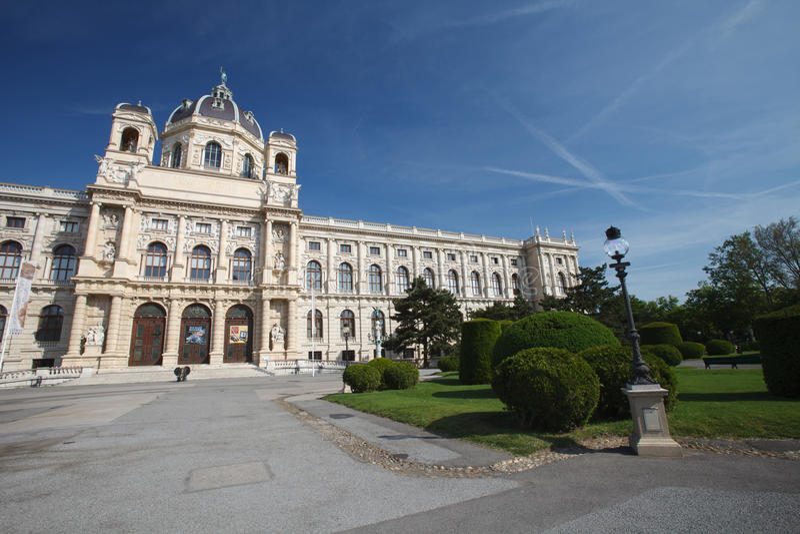 Μουσείο φυσικής ιστορίας της Βιέννης, μουσείο Wien Naturhistorisches στοκ εικόνες