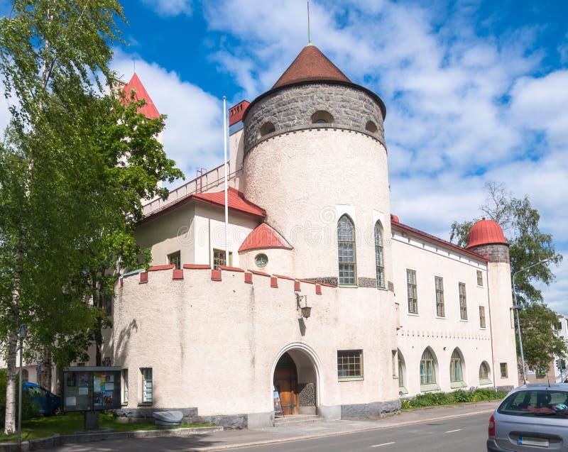 Μουσείο φυσικής ιστορίας του Kuopio, Kuopio, βόρειο Savonia, Φινλανδία στοκ φωτογραφία