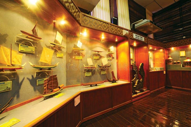 Μουσείο ψαράδων Balau Tanjung στοκ εικόνα