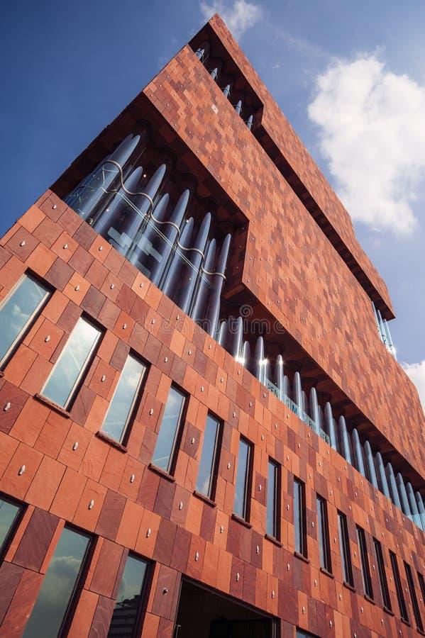 Μουσείο aan de stroom, MAS, Αμβέρσα στοκ φωτογραφίες με δικαίωμα ελεύθερης χρήσης