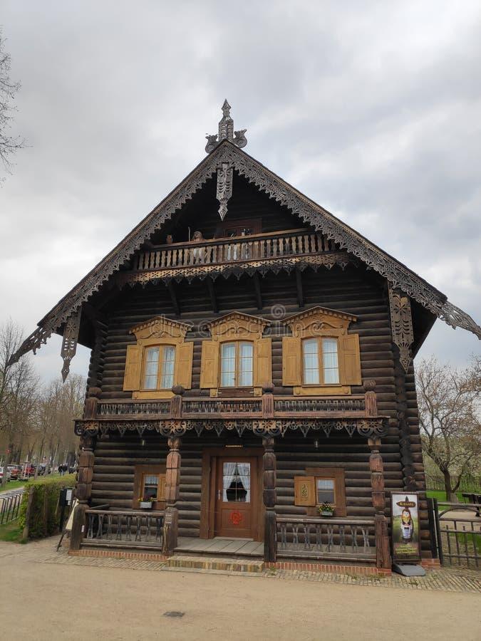 Μουσείο Alexandrowka στη ρωσική αποικία Πότσνταμ, Γερμανία στοκ εικόνες