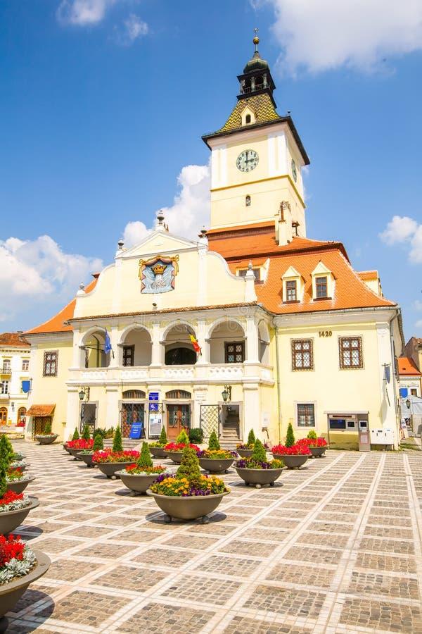 Μουσείο Brasov Ρουμανία ιστορίας στοκ φωτογραφία με δικαίωμα ελεύθερης χρήσης