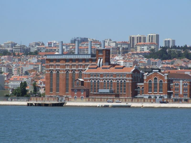 Μουσείο Eletricity Λισσαβώνα - Πορτογαλία στοκ φωτογραφίες με δικαίωμα ελεύθερης χρήσης