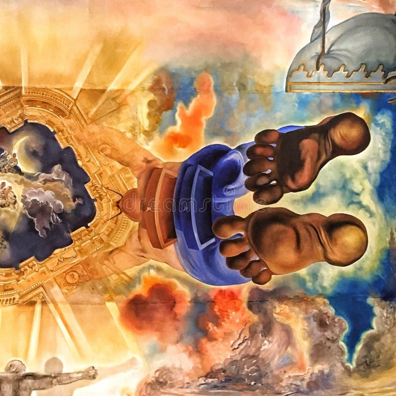 Μουσείο Figueres του Salvador Dali ελεύθερη απεικόνιση δικαιώματος