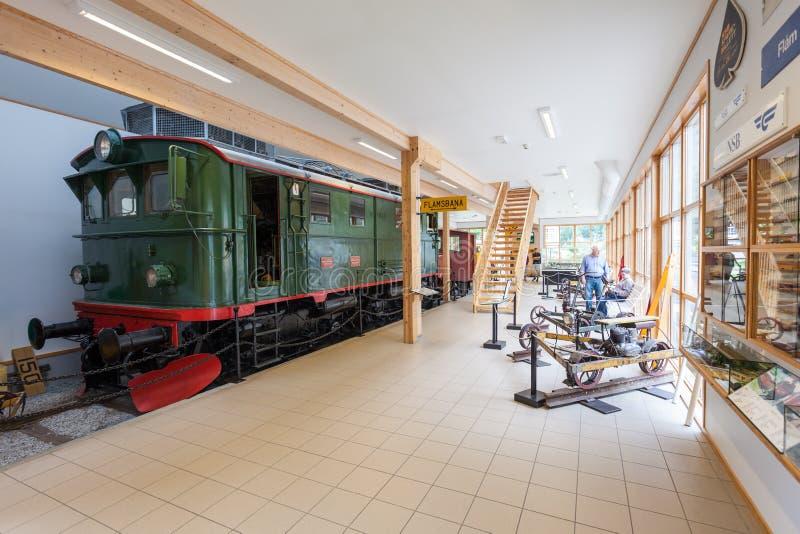 Μουσείο Flam στη Νορβηγία στοκ εικόνες