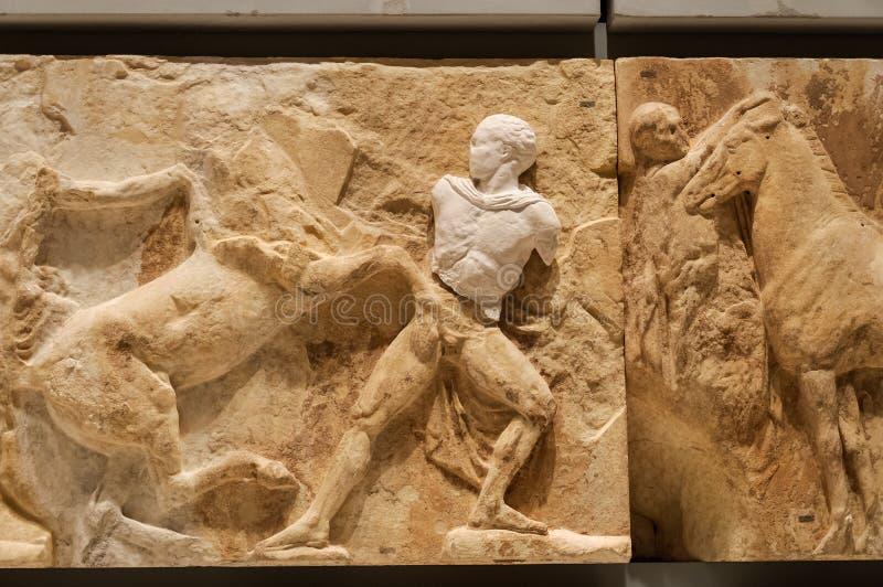 Μουσείο frieze αριθ. ακρόπολη 14 στοκ εικόνες με δικαίωμα ελεύθερης χρήσης