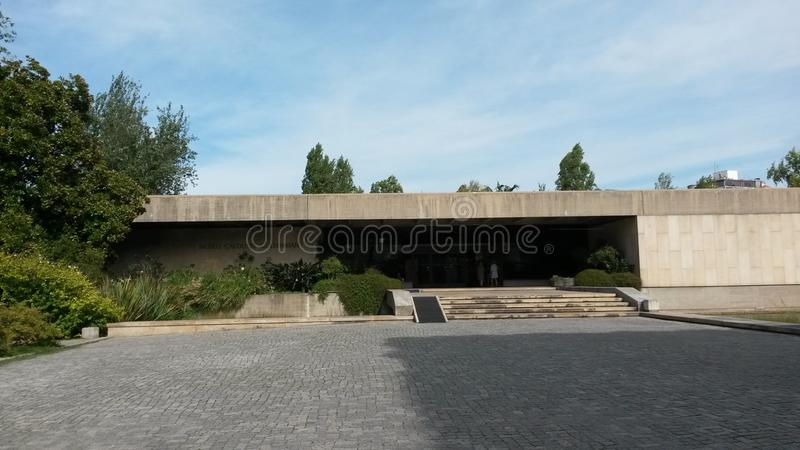 Μουσείο Gulbenkian Calouste στοκ φωτογραφία με δικαίωμα ελεύθερης χρήσης