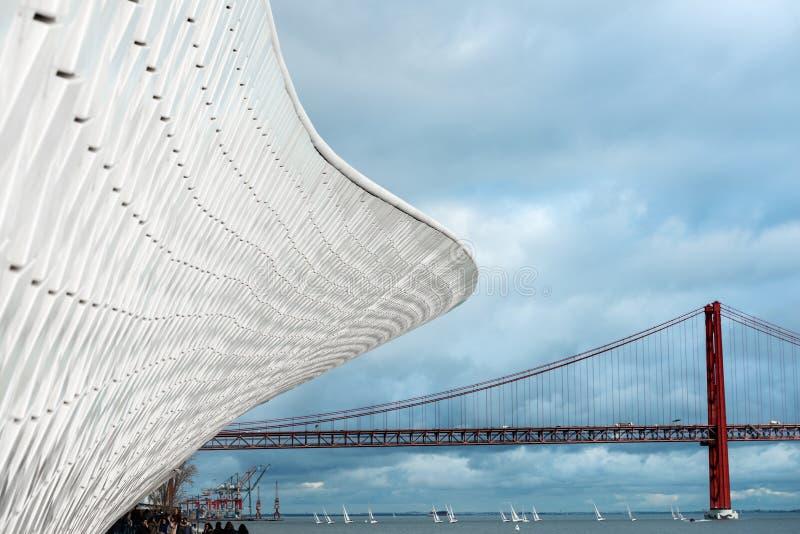 Μουσείο MAAT στη Λισσαβώνα στοκ φωτογραφία με δικαίωμα ελεύθερης χρήσης