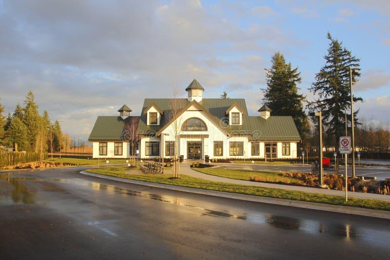 Μουσείο Mennonite σε Abbotsford, Βρετανική Κολομβία στοκ φωτογραφία με δικαίωμα ελεύθερης χρήσης