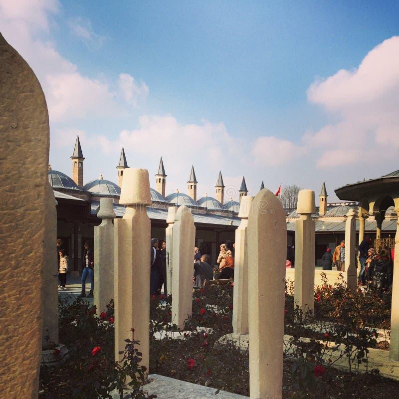 Μουσείο Mevlana Konya στοκ εικόνες με δικαίωμα ελεύθερης χρήσης