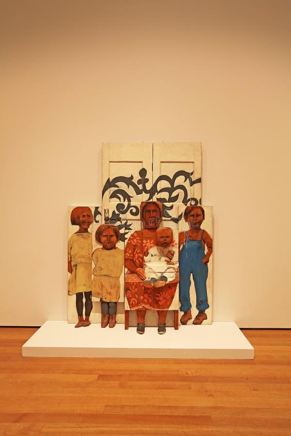 Μουσείο Moma, Νέα Υόρκη, ΗΠΑ στοκ εικόνες με δικαίωμα ελεύθερης χρήσης