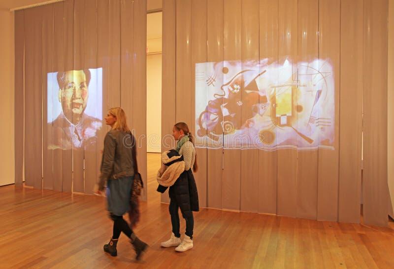 Μουσείο Moma, Νέα Υόρκη, ΗΠΑ στοκ φωτογραφίες με δικαίωμα ελεύθερης χρήσης