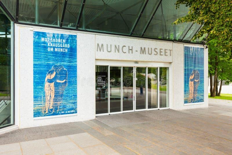 Μουσείο Munch στο Όσλο στοκ φωτογραφίες