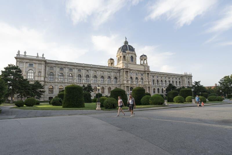 Μουσείο Naturhistorisches στη Βιέννη στοκ φωτογραφίες