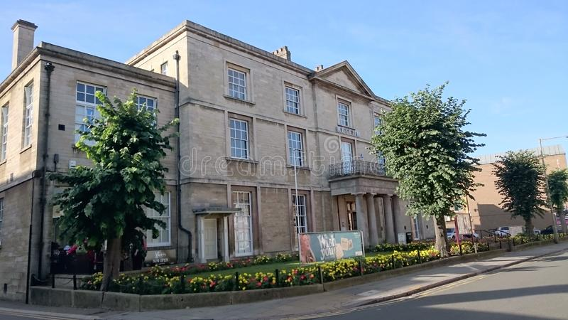 Μουσείο Peterborough στοκ εικόνα με δικαίωμα ελεύθερης χρήσης