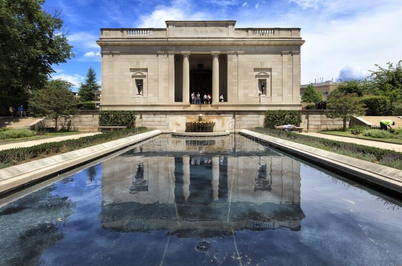 Μουσείο Rodin στη Φιλαδέλφεια, Πενσυλβανία, ΗΠΑ στοκ εικόνα