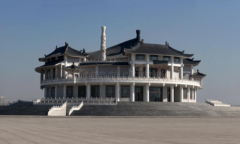Μουσείο Yuanjia Huo, Tianjin, Κίνα στοκ εικόνα με δικαίωμα ελεύθερης χρήσης