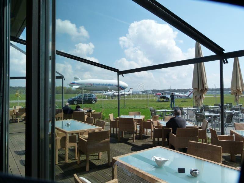Μουσείο Zeppelin με την καφετέρια στοκ φωτογραφίες