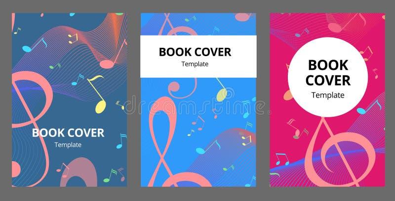 Μουσικής βασικές ND κάρτες φυλλάδιων σημειώσεων διανυσματικές καθορισμένες Ακουστικό πρότυπο εργαλείων flyear, περιοδικά, αφίσα,  ελεύθερη απεικόνιση δικαιώματος