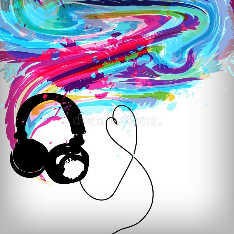 μουσική έννοιας ανασκόπη&sig απεικόνιση αποθεμάτων