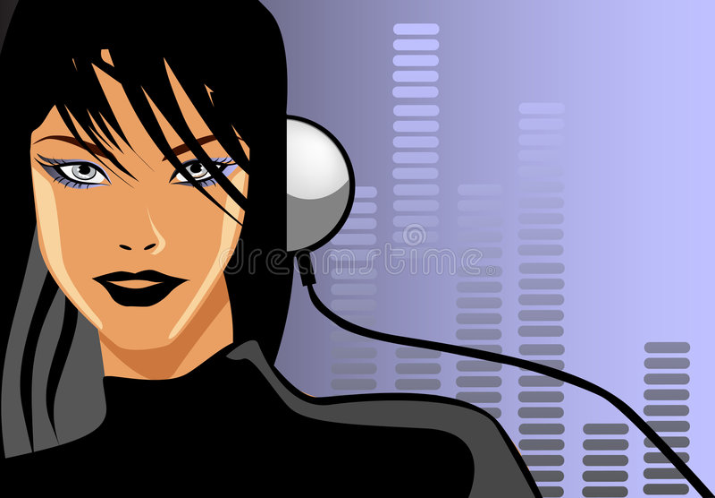 μουσική αγάπης ελεύθερη απεικόνιση δικαιώματος