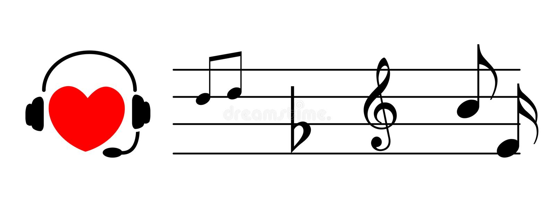 μουσική ακούσματος καρ&d διανυσματική απεικόνιση