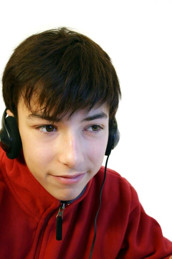 Download μουσική ακούσματος στοκ εικόνα. εικόνα από χαριτωμένος - 394197