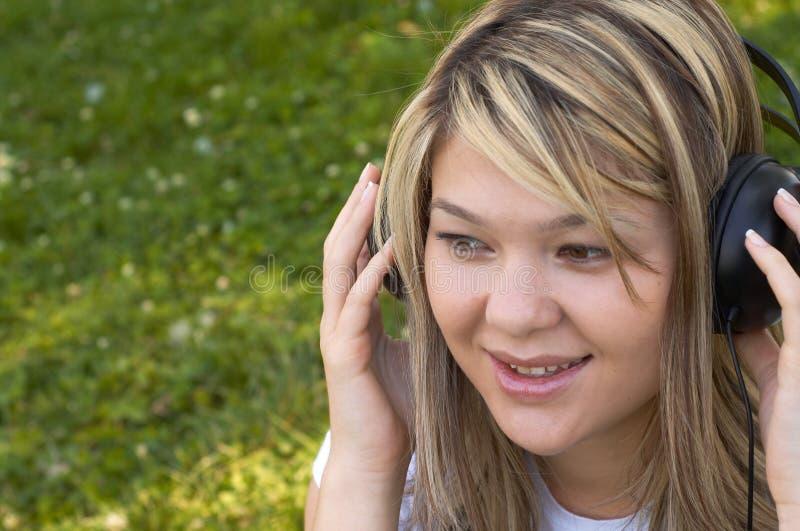 μουσική ακούσματος στοκ εικόνες με δικαίωμα ελεύθερης χρήσης