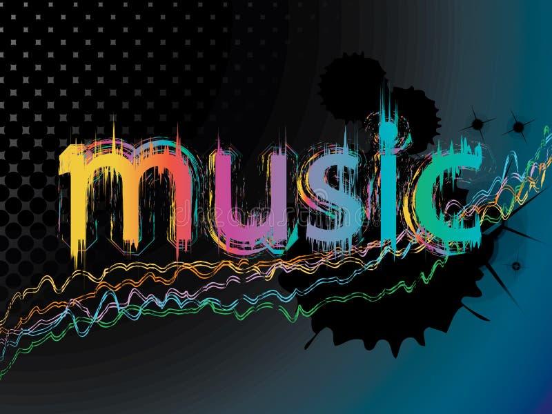 μουσική ανασκόπησης ελεύθερη απεικόνιση δικαιώματος