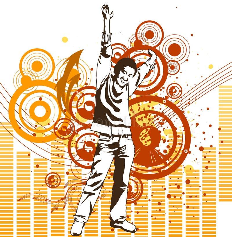 μουσική ατόμων ελεύθερη απεικόνιση δικαιώματος