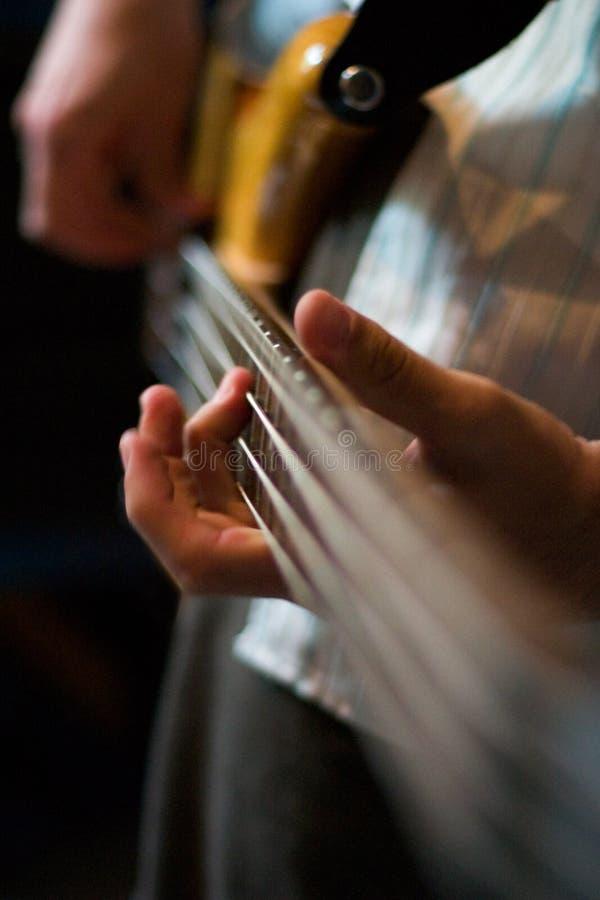 μουσική εστίασης στοκ φωτογραφία