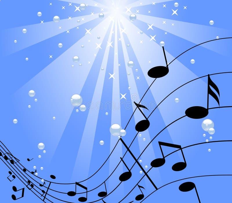 μουσική κάτω από το ύδωρ ελεύθερη απεικόνιση δικαιώματος