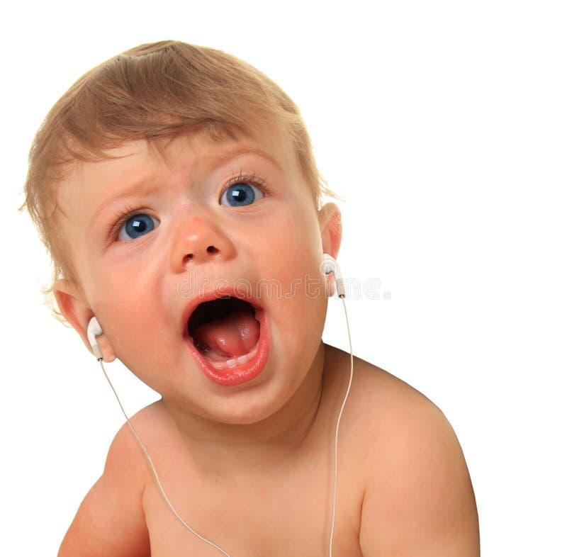 Μουσική μωρών στοκ εικόνα με δικαίωμα ελεύθερης χρήσης
