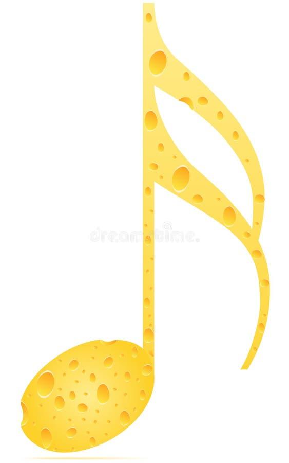 μουσική νότα διανυσματική απεικόνιση