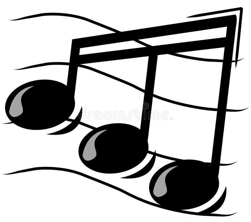 μουσική νότα ελεύθερη απεικόνιση δικαιώματος