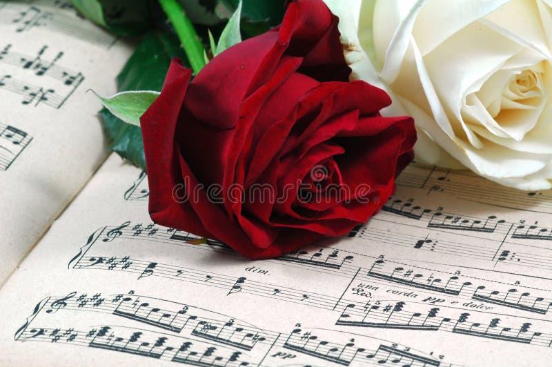 μουσική ρωμανική στοκ εικόνες