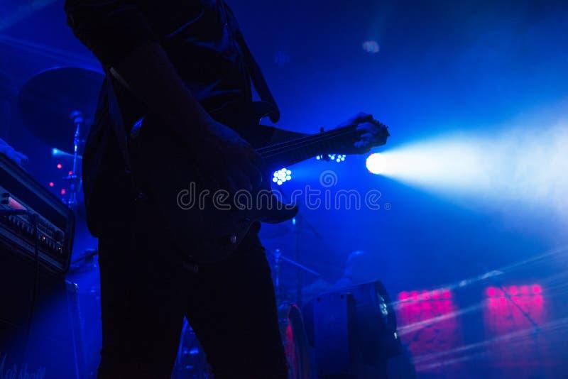 Μουσική συναυλίας βράχου στοκ φωτογραφία με δικαίωμα ελεύθερης χρήσης