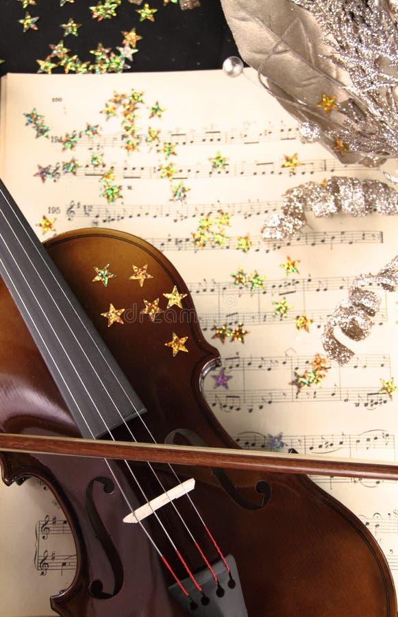 Μουσική Χριστουγέννων στοκ εικόνες