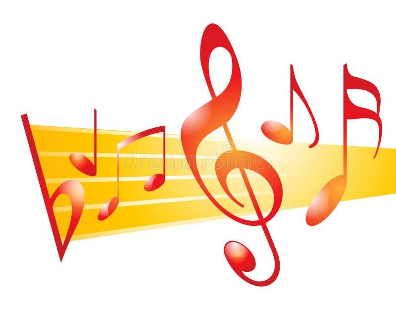 μουσική απεικόνιση αποθεμάτων