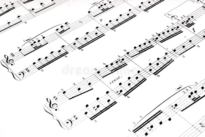 Μουσική στοκ εικόνες