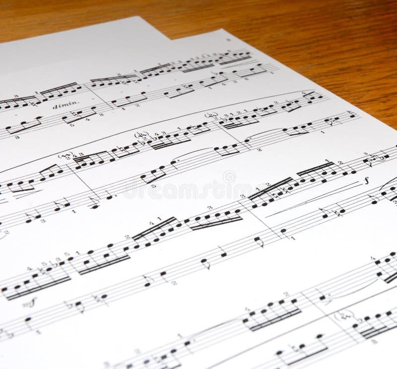 μουσική στοκ εικόνα