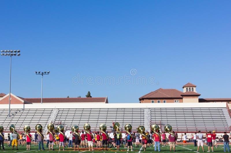 Μουσικοί Πανεπιστημίου της Νότιας Καλιφόρνιας στοκ φωτογραφίες με δικαίωμα ελεύθερης χρήσης