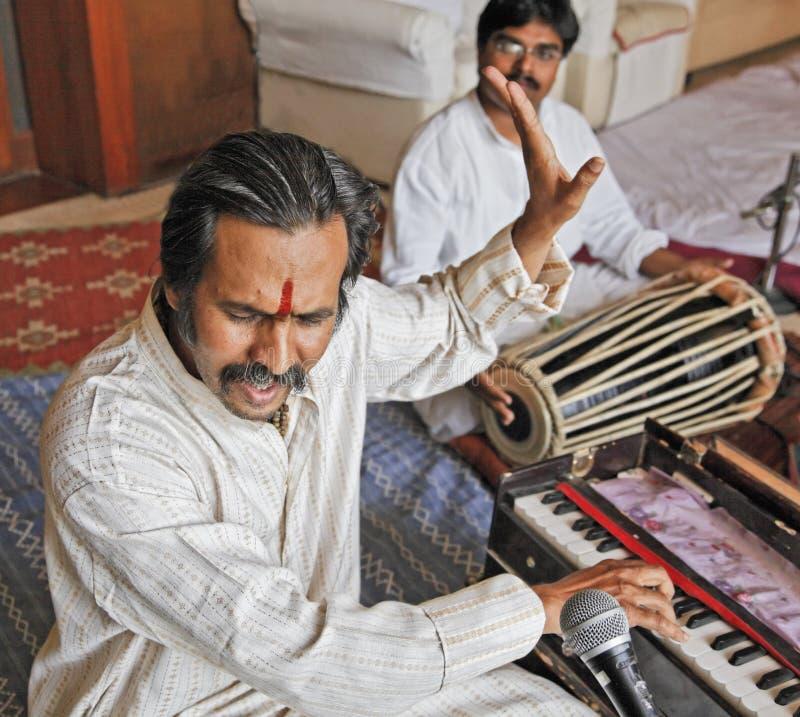 Μουσικός και τραγουδιστής Desai Bumbay Manoj στοκ εικόνες