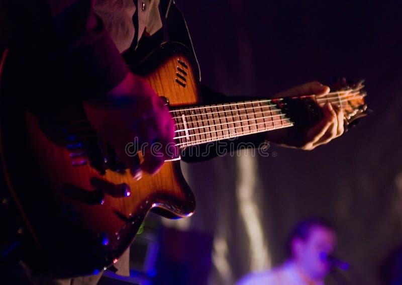 μουσικός κιθάρων στοκ εικόνες