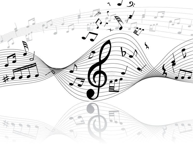 μουσικό προσωπικό απεικόνιση αποθεμάτων