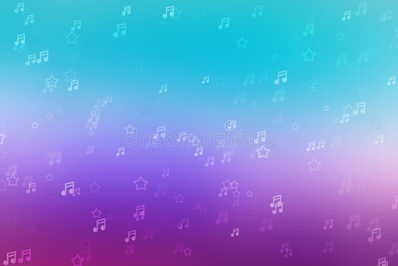 Μουσικό φόντο φωτεινός ήχος, καλλιτεχνικό στοκ φωτογραφίες